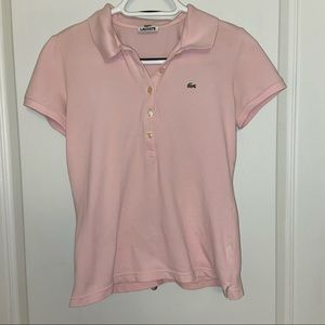 Lacoste Pink Polo F4811